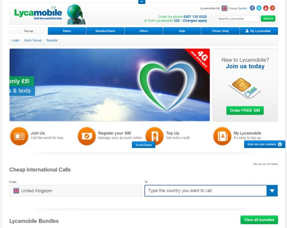 Head of Online – Lycamobile Group